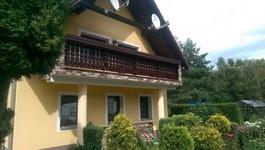 Bavorský balkón, domek