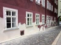 Vídeňská okna, dům na náměstí v Chebu